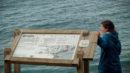 Itxaspe-Blick auf's Meer